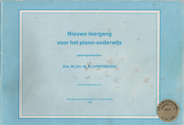 Kloppenburg: a study path for teaching the piano