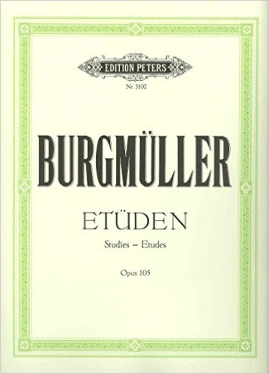 Johann Friedrich Burgmuller: Etuden op. 105 and op. 109 added