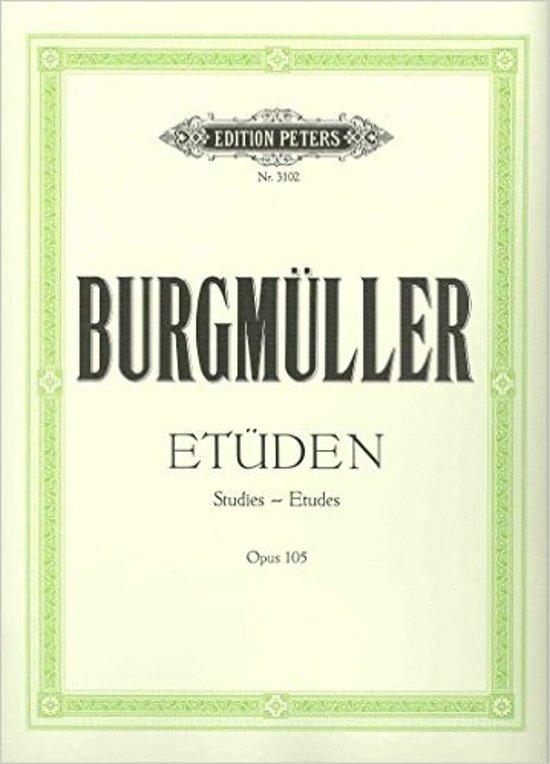Johann Friedrich Burgmuller: Etuden op. 105 and op. 109 added